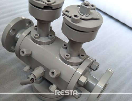 resta has independently developed dbb ball valve