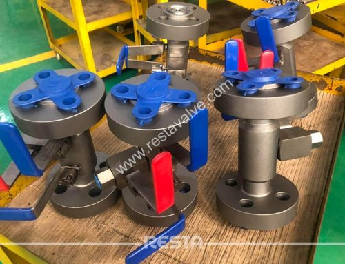 DBB valve's fugitive emission test ISO 15848-2