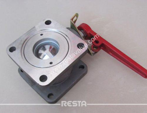 Aluminum ball valve
